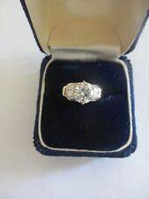 2.50 Carat 14K Gold Engagement Ring Center=1.75 Ct. H-SI1  Size 7  Value=$23,700