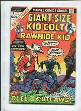Giant Size Kid Colt #1 ~ RawHide Kid Duel Of The Outlaws! ~ (Grade 4.0)WH