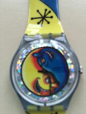 "SWATCH WATCH ""FIZ N ZIP"" VERY RARE NEW COLLECTABLE GN164 GREAT GIFT NIB"