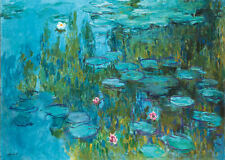 Framed Print - Monet Water Lilies (Picture Poster Painting Art Van Gogh Dali)