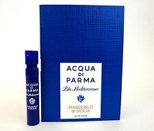 Acqua Di Parma Blu Mediteraneo MANDORLO Di SICILIA 1.2ml Cologne Spray Sample x1