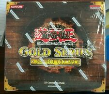 Yugioh Gold Series 2 2009 Booster Box Factory Sealed 5ct. L@@K