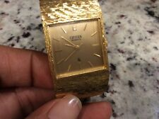 VINTAGE GOLD PLATED CITIZEN WATCH