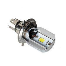 Ampoule LED Motos scooter H4 pour moto Phare 6000K Ampoules Moto Lumière