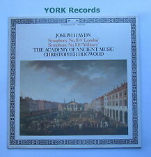 411 833-1 - HAYDN - Symphonies No 100 & 104 HOGWOOD - Excellent Con LP Record