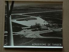 Photo Ancienne Aérodrome TANGER Maroc  Années 50  Avion  Aviation  Plane
