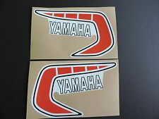 1981 Yamaha YZ 250 465 Euro Model Gas Tank Decal Set. AHRMA