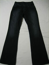 levi's bold curve boot cut Black Jeans womens Size 27 (actual 33 X 31) shortened
