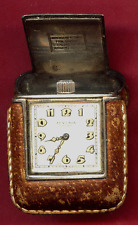 Vintage Sterling (935) Juvenia Purse or Pocket Travel Watch - Swiss
