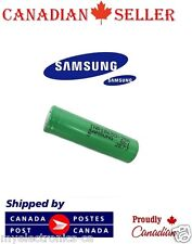 1 PC Genuine Samsung 18650 ICR  2500mAh Li-Ion 3.7V Flat Top Battery