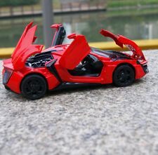 Lykan Hypersport Model Cars 1:32 Alloy Diecast Toys Sound & Light GiftsNew  Red