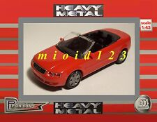 1/43 - AUDI A4 Cabriolet - Rossa - Die-cast Heavy Metal