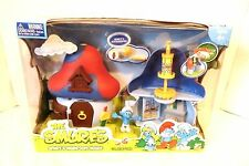 RARE BAKER SMURF'S MUSHROOM HOUSE with KITCHEN & ACCESSORIES JAKKS PACIFIC NEW