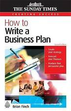 How to Write a Business Plan (Creating Success),VERYGO