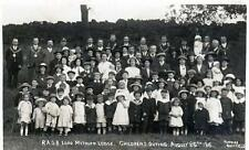 R A O B Lord Methuen Lodge Sheffield 1916 Outing unused RP old postcard Furniss