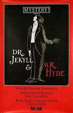 DR. JEKYLL AND MR. HYDE ORIGINAL PBS MYSTERY THEATRE POSTER W/ EDWARD GOREY ART