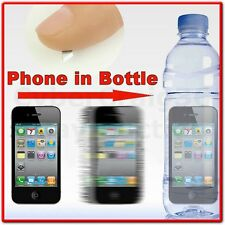 CELL PHONE IN BOTTLE STREET MAGIC TRICK ILLUSION MOBILE PENETRATION THRU PLASTIC