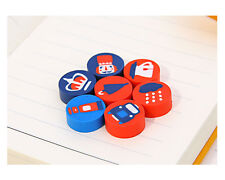 18 pc I Love London British Style Rubber Erasers Set Party Gift Bag Fillers