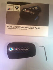 BMW M PERFORMANCE M POWER ALCANTARA KEY CASE FOB COVER GENUINE FOR F KEYS