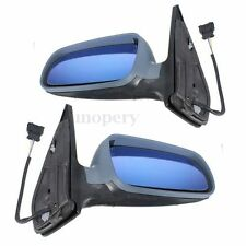 Pair Electric Wing Left & Right Side Door Mirror For VW Bora Golf Bora Mk4 98-05
