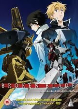 Broken Blade Complete Series Collection DVD New & Sealed ANIME Region 2 MVM