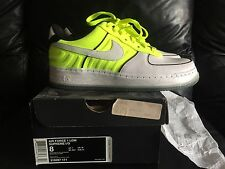 Nike Air Force 1 Low Supreme I/O Talaria sz 8 DS new with box neon volt