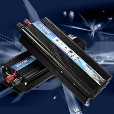 Professional 2000 Watt DC 12V to AC 110V Car Power Inverter Charger Converter S