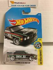 '73 BMW 3.0 CSL Race Car #57 * Black w/ Castrol * 2017 Hot Wheels *  H77