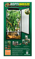 Zoo Med ReptiBreeze Open Air Screen Cage. X-Large Reptile Cage. 24 x 24 x 48