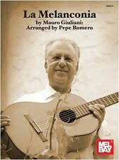 Mel Bay Mauro Giuliani La Melanconia Learn to Play Classical Guitar Music Book
