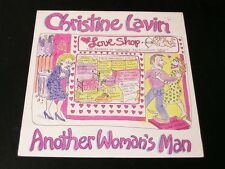Christine Lavin - Another Woman's Man - 1987 LP - SEALED!