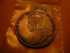 CANADA 1919 50 CENT SILVER COIN ID#Z36