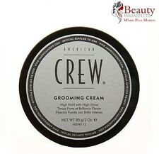 "AMERICAN CREW GROOMING CREAM HIGH HOLD & HIGH SHINE 85G fiber with shine ""NEW"""