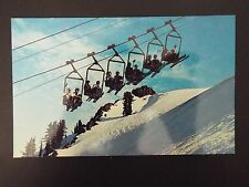 Vintage Squaw Valley, California Scene of the 1960 Winter Olympics postcard