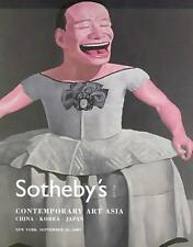 Sotheby's //  Contemporary Art Asia Japan China Korea Post Auction Catalog 2007