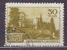 RUSSIA SU 1947 USED SC#1164 30kop,  Peasants', Livadia
