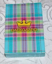 Vera Bradley Baekgaard Standard Poker Playing Cards New Decks Caribbean Blue