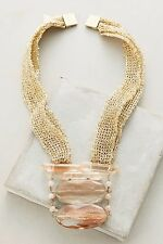 Anthropologie Luma Mesh Necklace - NWT