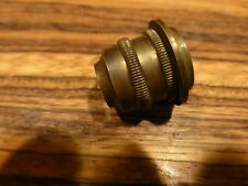 Great Rare antique brass microscope objective, not sure of brand [Y8-W7-A8-E8]