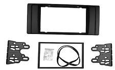 Double 2 Din Stereo Dash Kit For BMW 5 Series E39 X5 E53 Radio Fascia Trim Panel