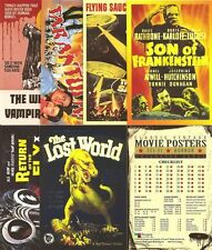BREYGENT SCI-FI HORROR MOVIE POSTER Series 2 CARD SET OF 49