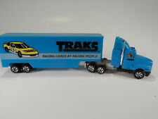 "Road Champs ""Traks - Racing Cards by Racing People"" Tractor Trailer"