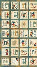 A Stitch in Time Stonehenge by Northcott Fabrics