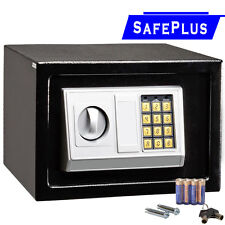 "12"" Electronic Safe Box Digital Security Keypad Lock Office Home Hotel Black New"