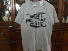 YOUNG MEN'S T-SHIRT-NWT-SARCASTIC SAYING ON FRONT-SZ LRG-L@@K