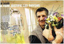 Coupure de presse Clipping 2006 (4 pages) Jean Lassalle