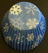 50 Snowflake Printed Cupcake Liners FROZEN Movie Baking Cups STANDARD SIZE