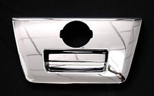 CHROME TAIL GATE HANDLE INSERT COVER FOR NISSAN NAVARA FRONTIER D40 05 06 07 08