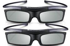Lot of 2  New Samsung 4K HD UHD SUHD 3D Active TV Glasses SSG-5100GB SSG-5150GB
