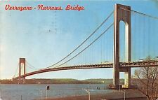 B32418 Verrazano Narrows Bridge   usa